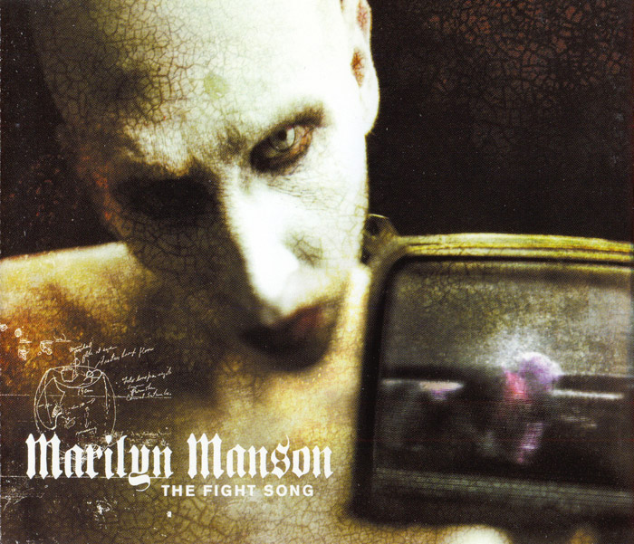 marilyn manson fight song cover makeup by ralis kahn
