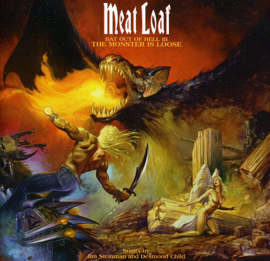 meatloaf bat outta hell 3